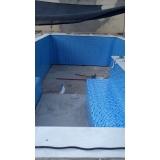 construção de piscina aquecida