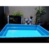 piscinas de fibra pequenas Vila Suzana