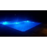 quanto custa iluminação de led para piscina Caieiras