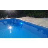 quanto custa iluminação para piscina de alvenaria Rio Grande da Serra