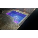 quanto custa iluminação para piscina de fibra Saúde