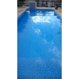 quanto custa piscina aquecida de vinil Santos