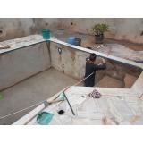 reforma de piscina aquecida residencial preço Hortolândia