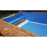 reforma de piscina de vinil Louveira