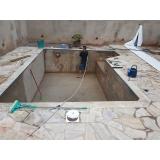 reforma de piscina de vinil
