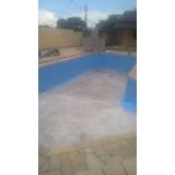 serviço de instalação de vinil para piscina pequena Zona Sul
