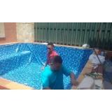 serviço de instalar vinil na piscina Água Rasa
