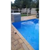 serviço de reforma de piscina com cascata São Gonçalo