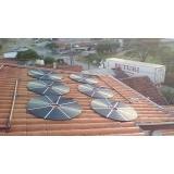 sistema de aquecimento solar para piscina preço Cambuci