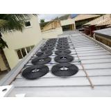 sistema de aquecimento solar para piscina Chora Menino